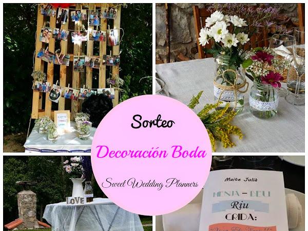 Sorteo Decoración de Boda Sweet Wedding Planners