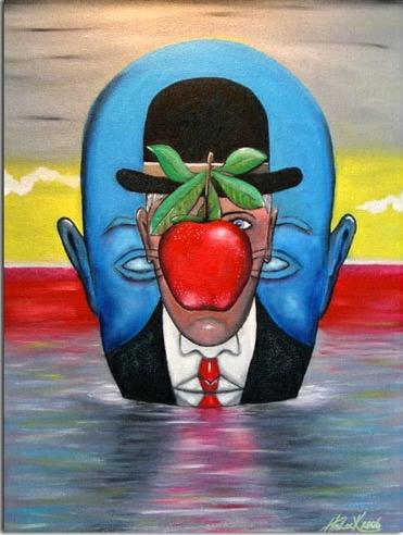 Joey Havlock 1967 | American Abstract Surrealist painter