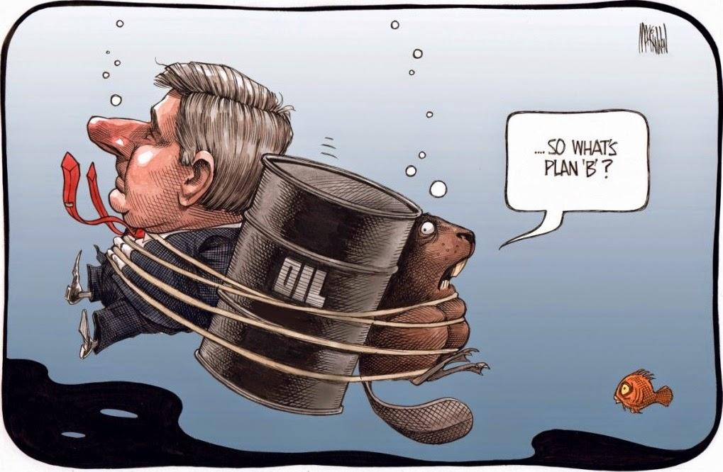 Bruce MacKinnon: Stephen Harper bets on oil.