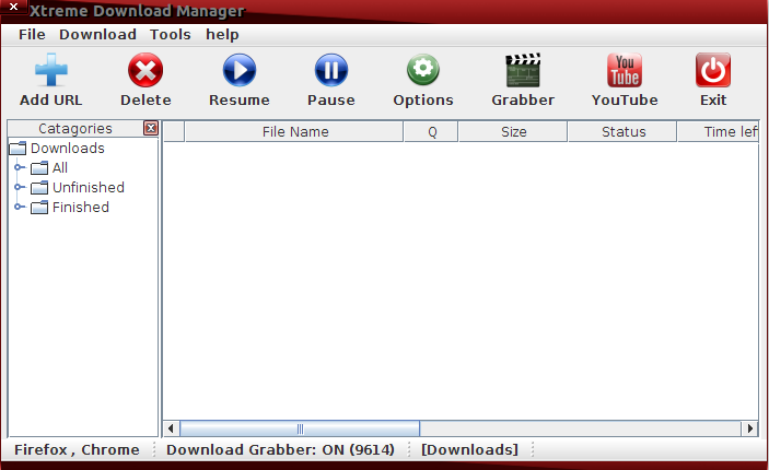 Xtreme Download Manager for Linux Ubuntu