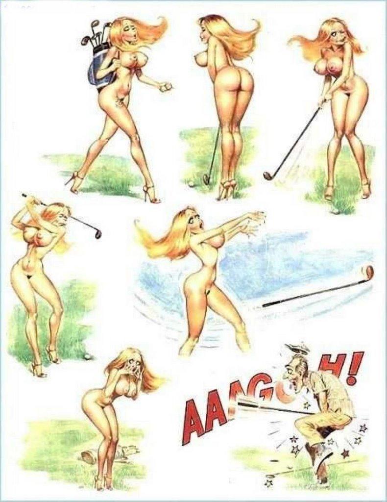 Эротика блондинки комиксв 2 фотография
