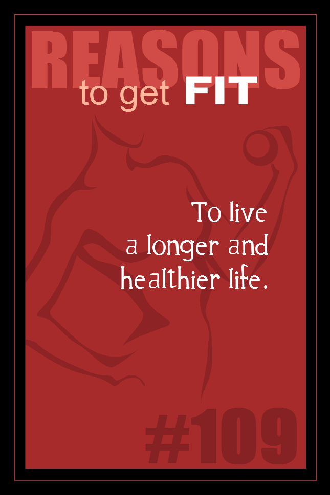 365 Reasons to Get Fit #109