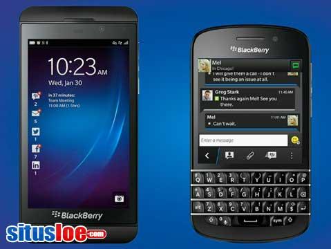Harga dan Spesifikasi Blackberry Z10 dan Q10 Terbaru