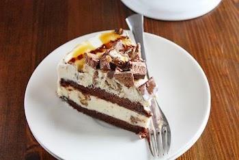 H απόλυτη τούρτα παγώτο με twix