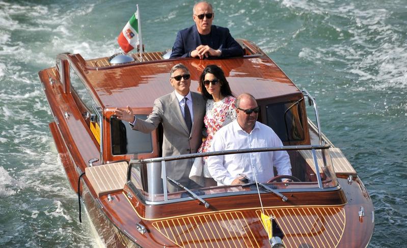 George Clooney's, Amal Alamuddin's wedding