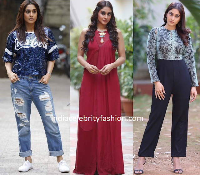 Regina Cassandra in different styles