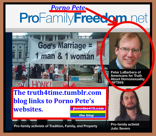 Porno Pete LaBarbera Truth4time