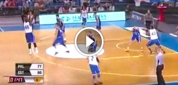 Gilas Pilipinas vs. Estonia (REPLAY VIDEO) 2015 Four Nations Cup