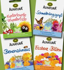 Biosaatgut - schöne Mischungen für Kinder und Erwachsene