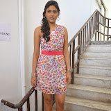 Manisha Yadav Photos in Floral Short Dress at Preminchali Movie Press Meet 49