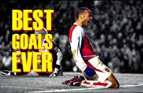 Les plus beau buts de Thierry Henry