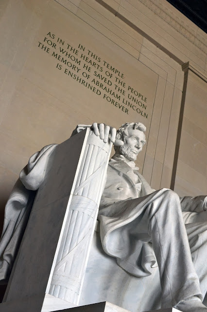 lincoln memorial, reflecting pool, dc, close up, abe,