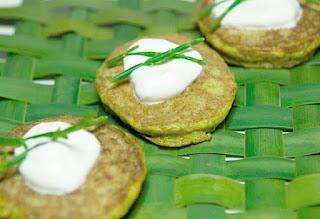 cattail pancakes