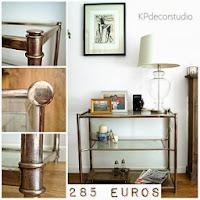 Tienda de muebles vintage en valencia. Aparadores y mesas auxiliares