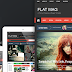 Flat Mag new Responsive Magazine News Drupal Theme