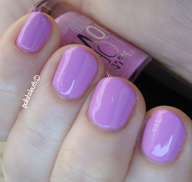 Maybelline's Color Show: Bleach Neon in Ultra Violet