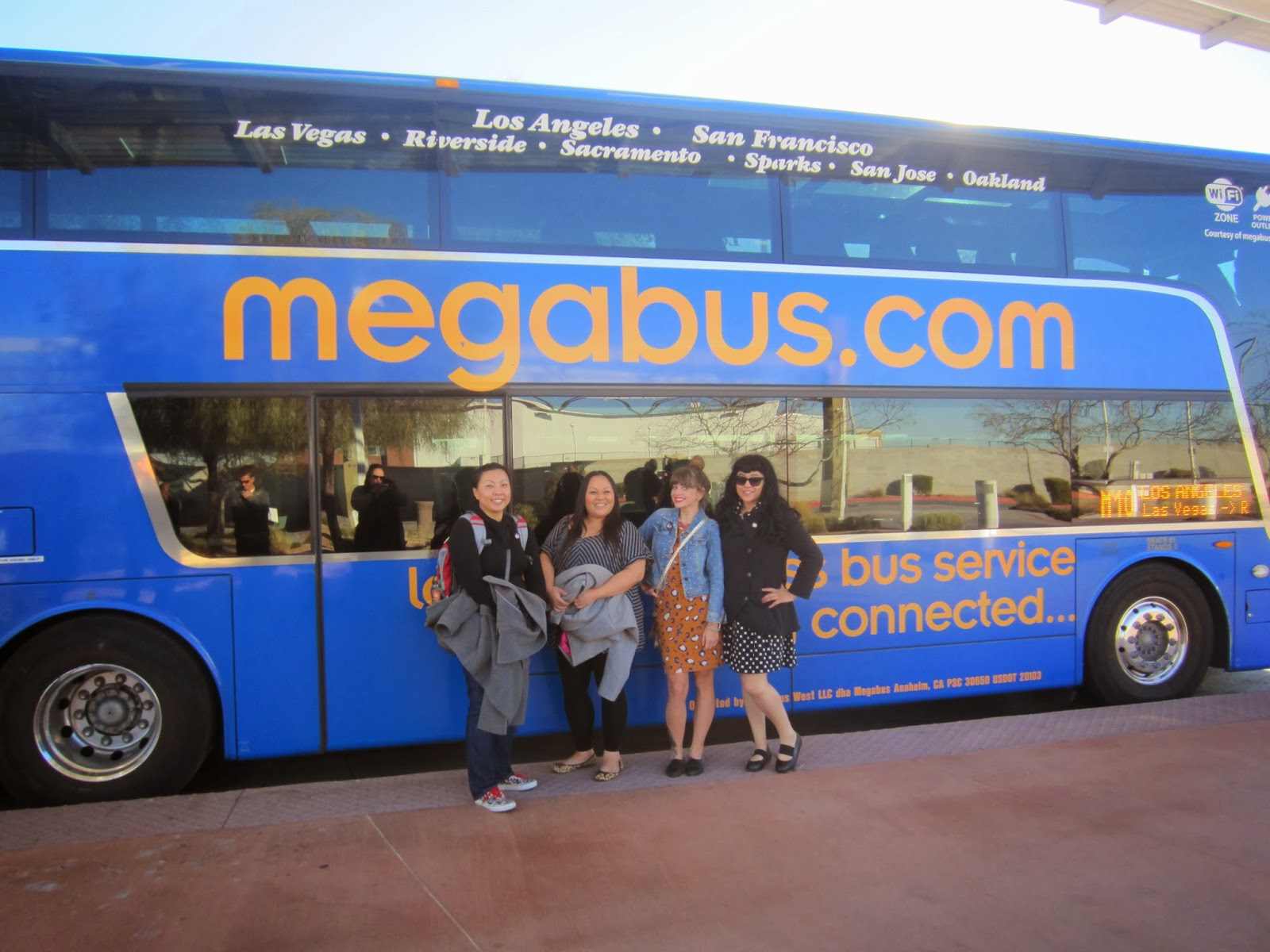 bus las vegas to los angeles