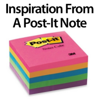 Marketing Inspiration From a Post-it Note