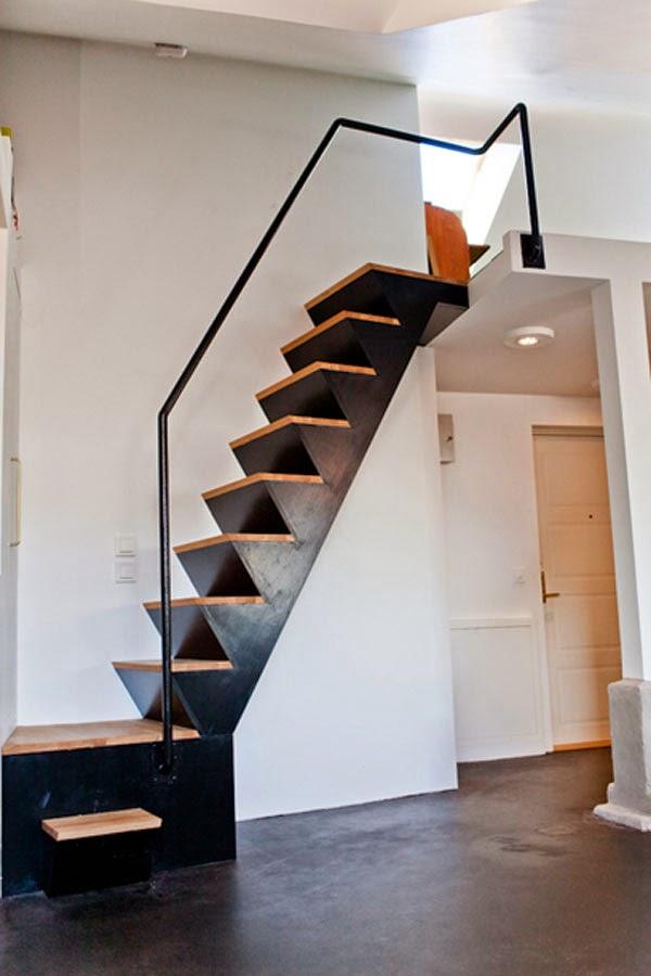Escada com designer bonito