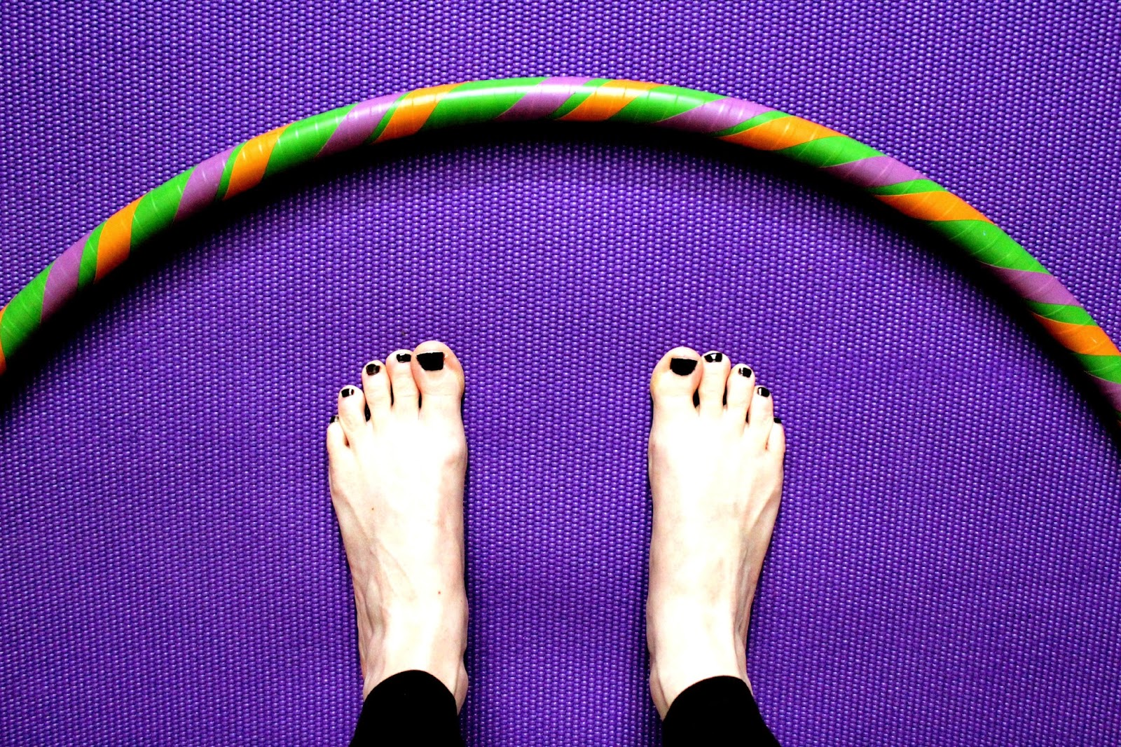 Project 365 day 68 - Yoga & hoop // 76sunflowers