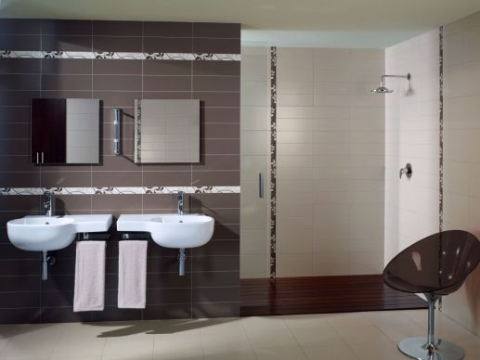 Bathroom Layout on Living Room Interior Design  Modern Bathroom Tile