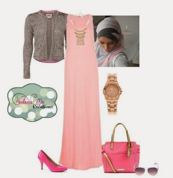 Hijab moderne pour féte