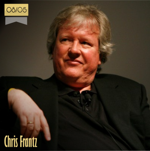 8 de mayo | Chris Frantz - @ChrisFrantzTTC | Info + vídeos