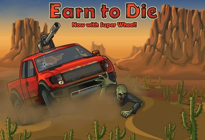 صورة ، تحميل ، لعبة ، فلاش ، اونلاين ، مجاني ، سيارة قاتلة الزومبي Earn to Die