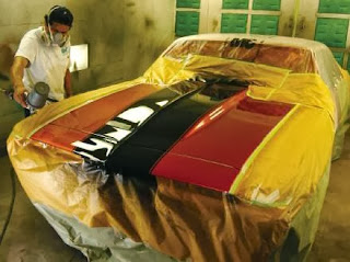 Check out a Paint Shop and View Your Car's Value Rise