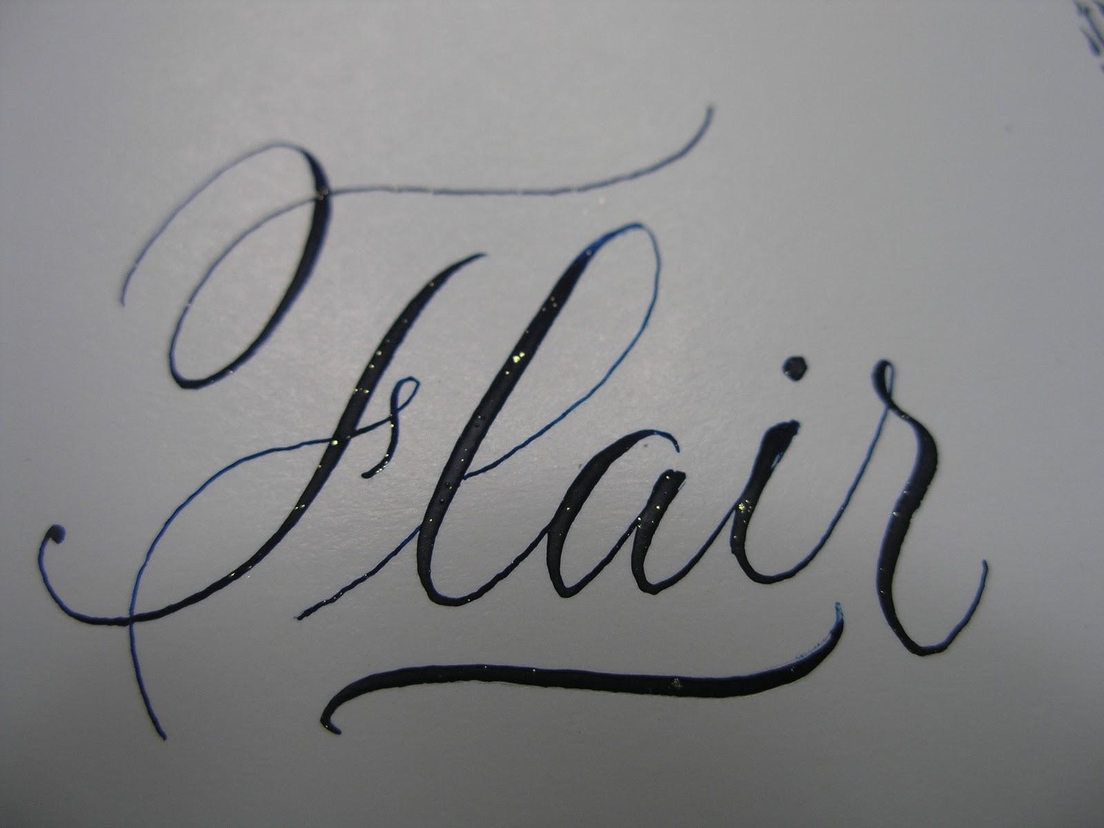 A Place To Flourish Calligraphy Flourish Friday Linda Hirsh
