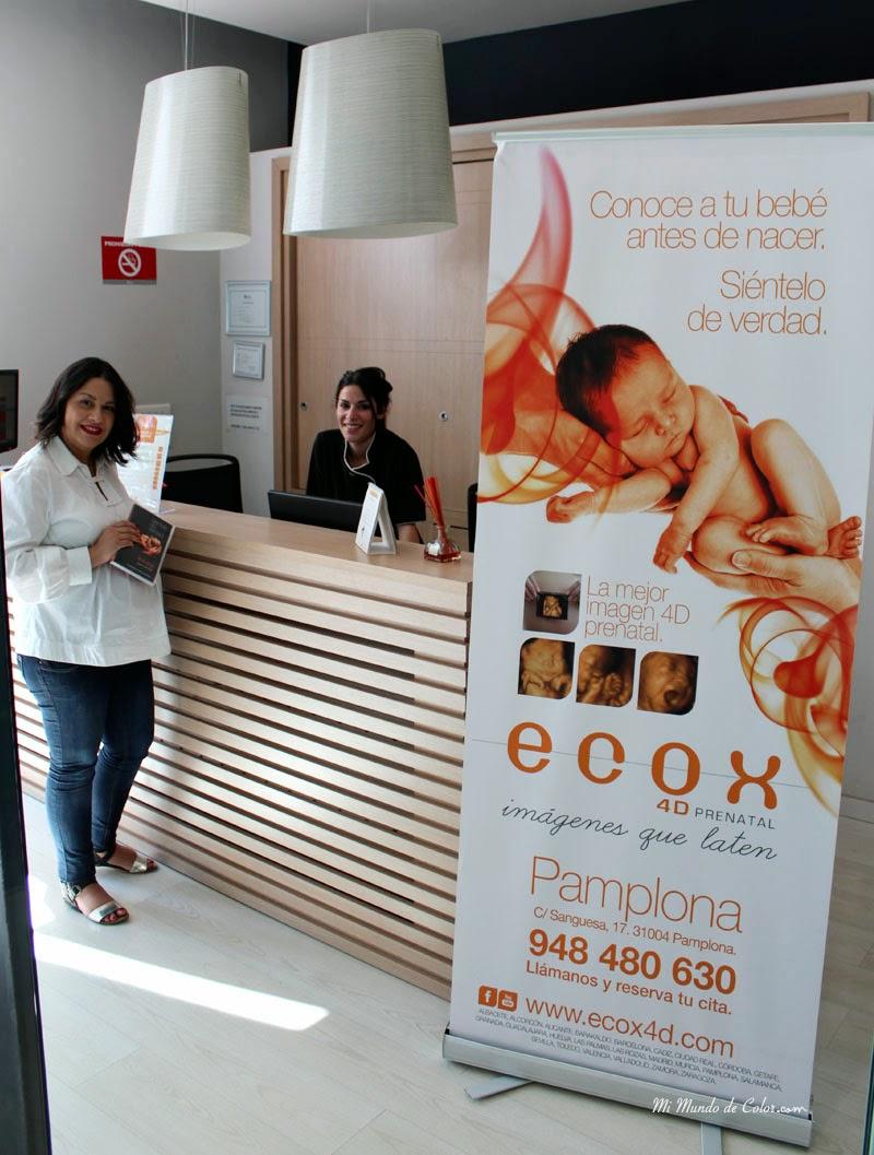 ecografías 4d en Pamplona en Ecox