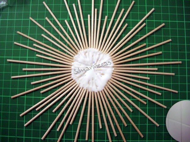 cmo hacer un miniespejo de aire retro con palitos de brocheta