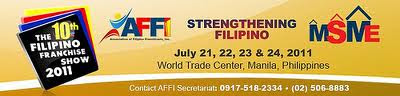 10th Filipino Franchise Show 2011