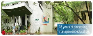 IMDR, Pune PG Diploma in Management 2013