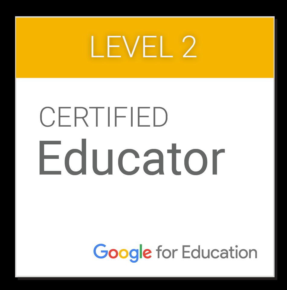 GOOGLE CERTIFIED EDUCATOR (N2)