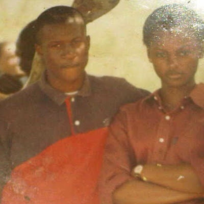 peter okoye secondary school days