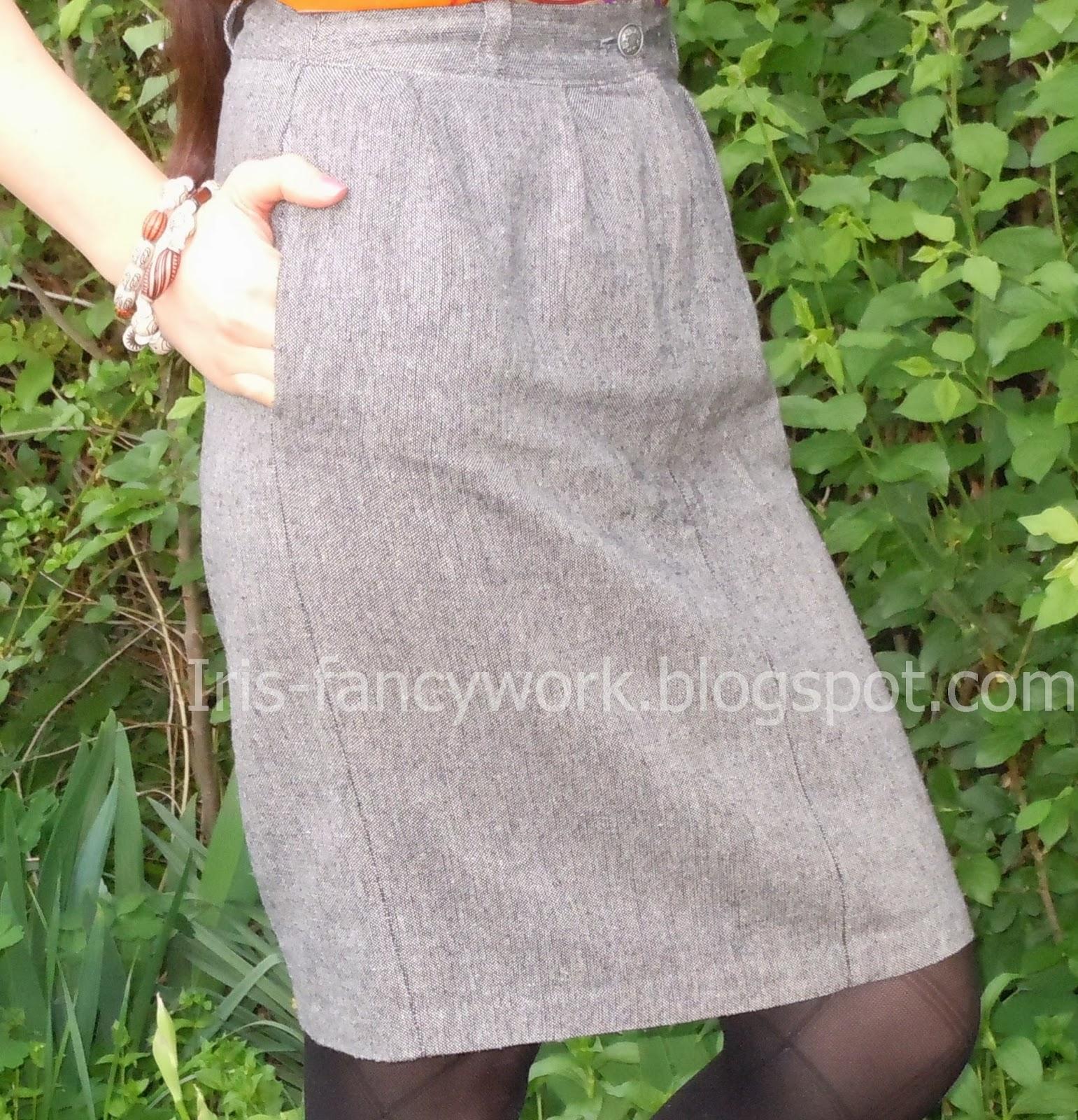 Шьем юбки своими руками. Длинная юбка или юбка-мини, юбка 70
