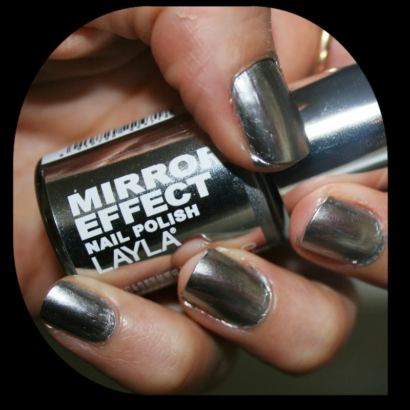 A quaint perspective trend alert mirrored nail paint for Mirror nail polish