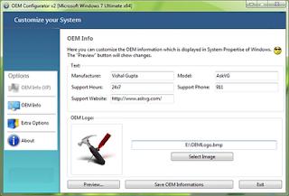 OEM Configurator Screenshoot