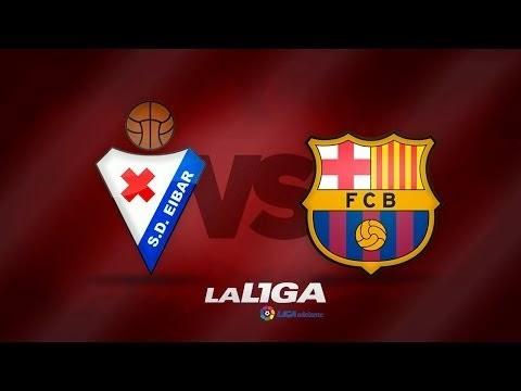 اهداف مباراة برشلونة وايبار || الدورى الاسبانى eibar vs barcelona ميسى يسجل