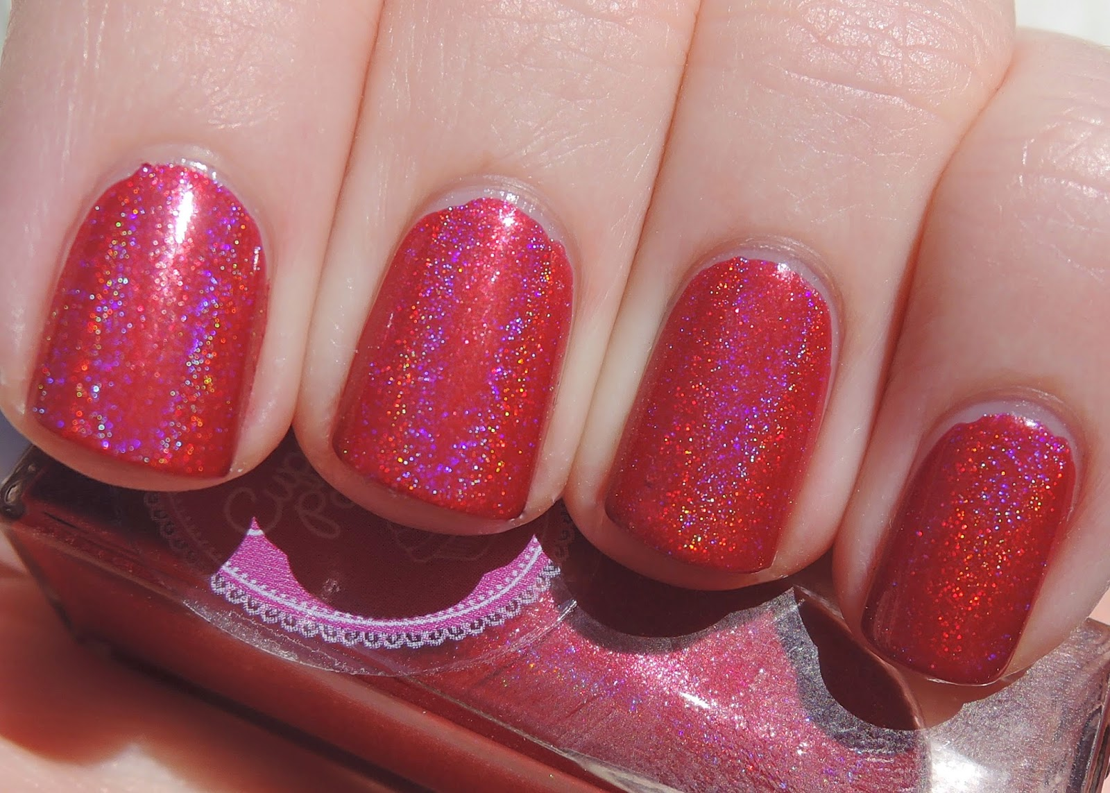 Cupcake Polish Just Sleighing Around