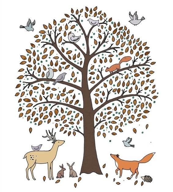 Lamb Amp Blonde Woodland Theme Nursery