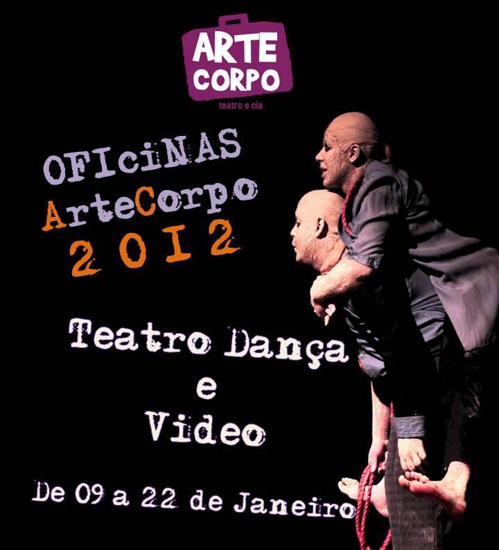Oficinas ArteCorpo 2012