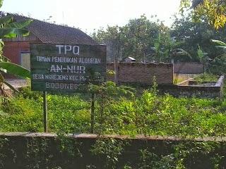 Pembangunan Gedung TPQ An Nur Mangkrak