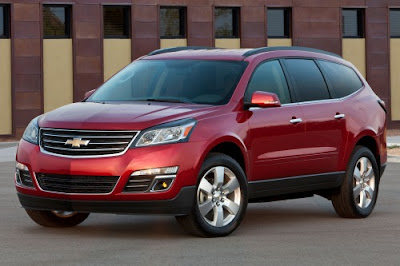 2014 Chevrolet Traverse SUV Review, Release Date & Redesign