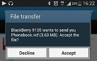 Menerima Transfer File di Android