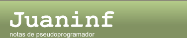 juaninf - notas de psudoprogramador