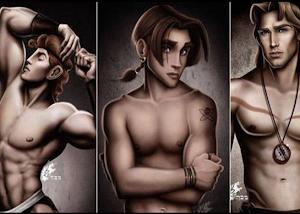 Pra ficar babando | Personagens Disney em ensaio pra lá de sexy, veja