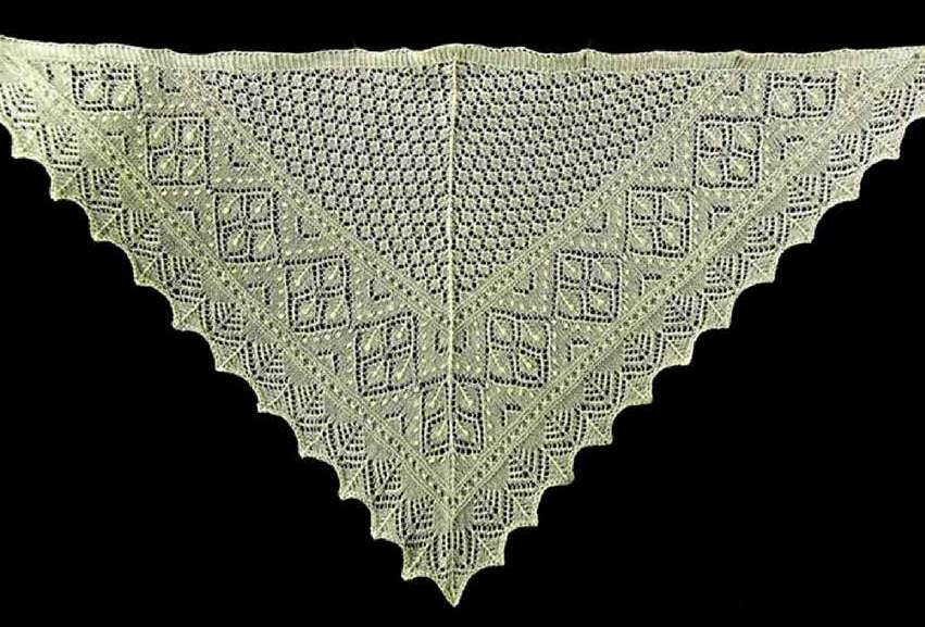 [All Knitted Lace] Estonian Lace on Display in Museum - Google Groups