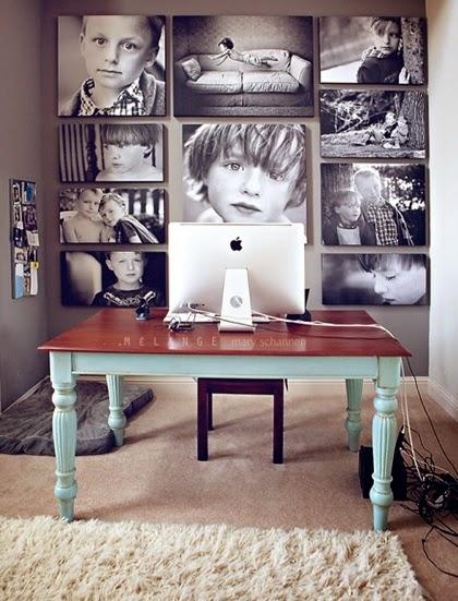 Como decorar con cuadros   casas ideas